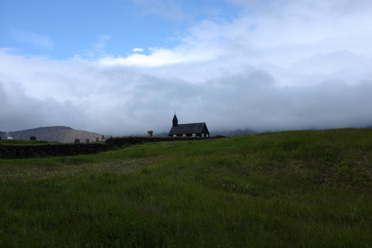 One of Iceland's oldest wooden churches, on the Snæfellsnes peninsula